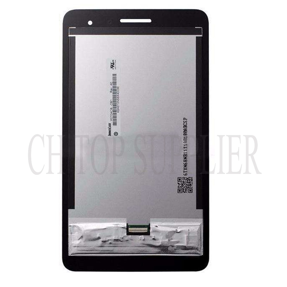 For Huawei Honor Play Mediapad T1-701 T1 701W T1-701W Touch Screen Digitizer Glass Sensor + frame LCD Display Panel Assembly цена