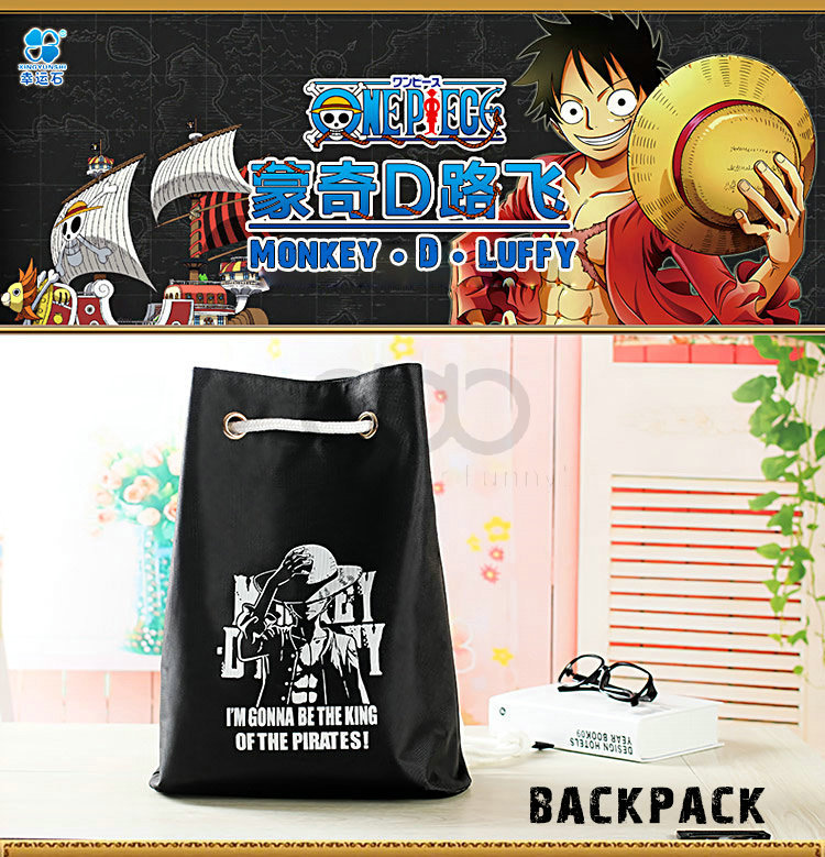 8a61db7e8015 anime ONE PIECE fashion backpack Gym Bag design for Monkey D Luffy Chopper  Trafalgar Law Ace-in Men s Costumes from Novelty   Special Use on  Aliexpress.com ...