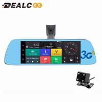 2017 New 7' Special Auto Registrator Car Mirror Bluetooth Android 16GB Car DVR Rearview Mirror 1080P Monitor GPS Navigation DVRs