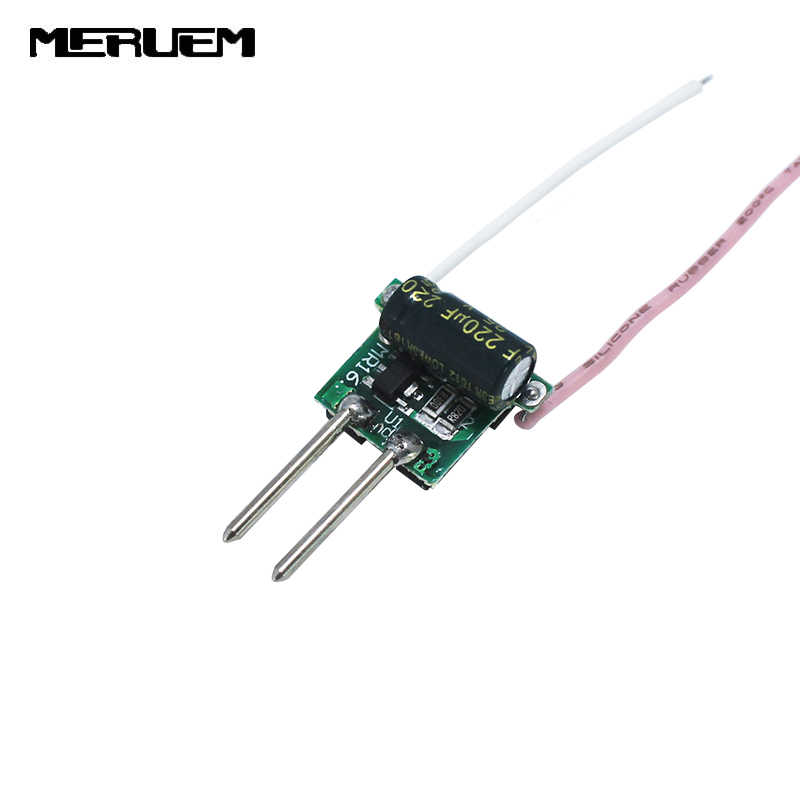 Free shipping DC12V input output DC6-10V Current 450mA 3*2W led drivers Lighting transformer for 6W MR16 Spotlights