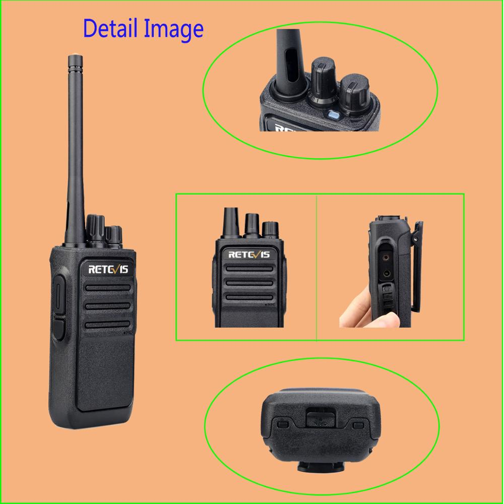 Image 3 - A Pair Retevis RT617/RT17 Walkie Talkies PMR Radio PMR446/FRS VOX USB charging Handy 2 Way Radio station Comunicador Transceiver-in Walkie Talkie from Cellphones & Telecommunications