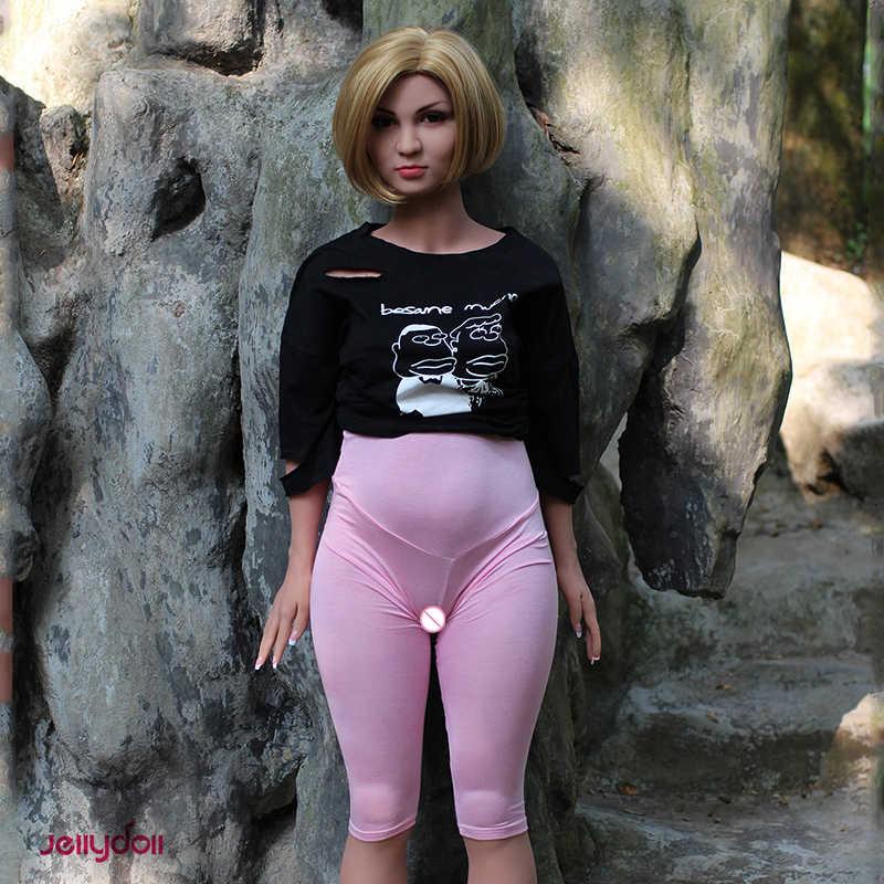 Geléia. new sex shop, 158 cm gordinho sex doll big ass, cheio de silicone bonecas sexuais, Gordura senhora, manequins sólida, esqueleto de metal, o bichano de verdade