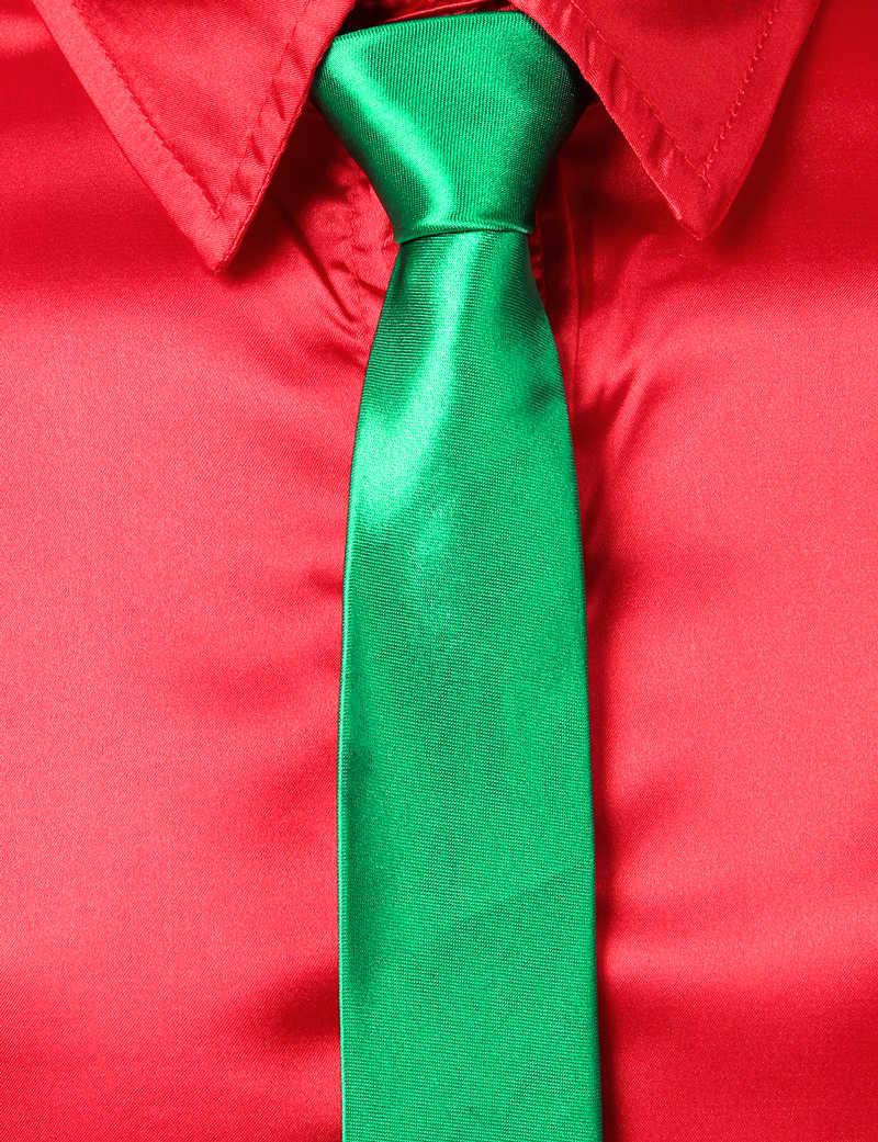 Elegante camisa de satén de seda rojo para hombre 2019 Casual ajuste Regular 3 piezas camisas de vestir para hombre Halloween Navidad Fiesta Chemise Homme 3XL