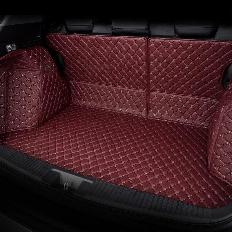 Tapis de coffre arrière pour voiture tapis de coffre pour hyundai ix25 ix35 santafe sonata, changan cs35 cs55 cs75 cs95 eado xt - 5