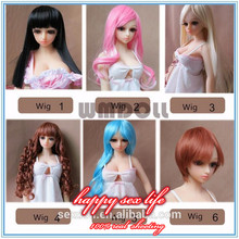 WM Doll Wigs for sex doll, Wigs for silicone sex dolls, fit for 65cm WMdoll