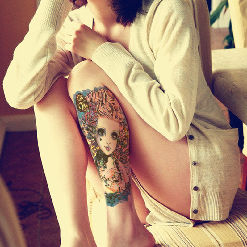Buy 2pcs temporary tattoo decal sexy for Adult temporary tattoo