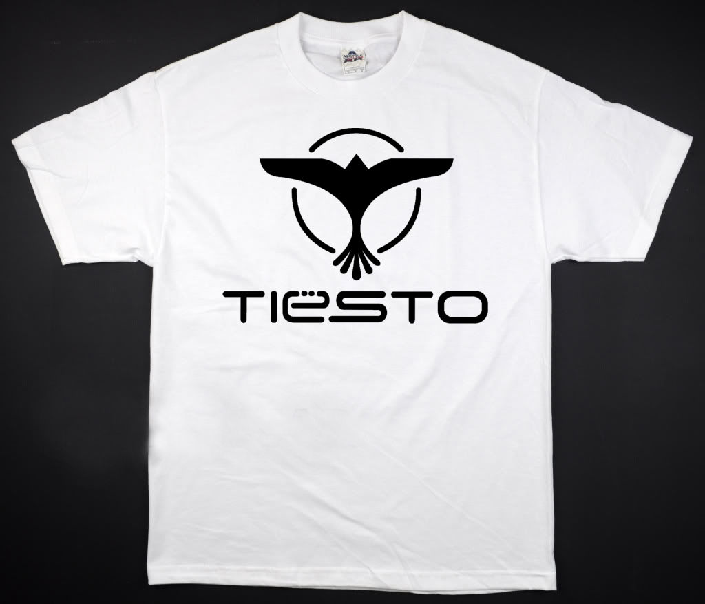 Tiesto – White T-Shirt Vegas Rage DJ Club Life Plur Edm Edc All Sizes S-2XL Men T Shirt Great Quality Funny Man Cotton
