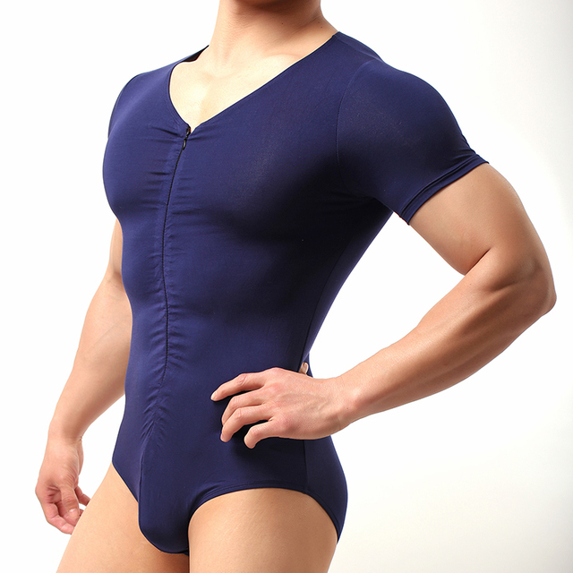 Shapewear Underwear For Man/Men Sexy Modal Bodybuilding Bodysuit/Male Spandex Slimming Wrestling Body Shaper