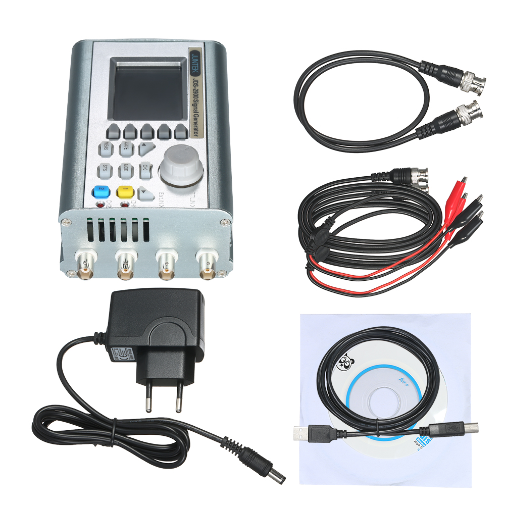 15MHz Digital Dual channel DDS Signal Generator Counter Arbitrary Waveform Pulse Signal Generator Function Frequency Meter