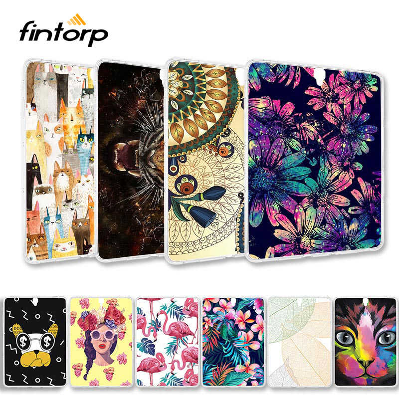 Painted Case For Samsung Galaxy Tab S3 9.7 S2 8.0 T820 T825 T815 T810 T710 T715 T310 Tab 4 3 Lite 7.0 10.1 T230 T235 T530 Covers