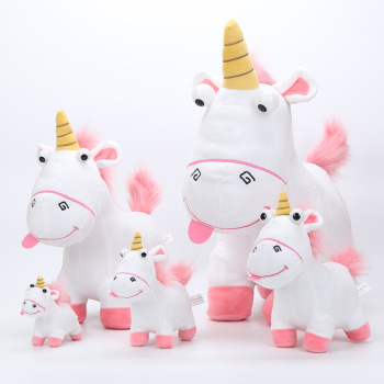 Kuscheltiere Newest 45cm 30cm 20cm 15cm 13cm Fluffy Unicorn Plush Toy Soft Stuffed Animal Unicorn Plush Dolls Juguetes de Peluches Bebe