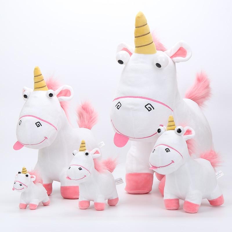 Newest 45cm 30cm 20cm 15cm 13cm Fluffy Unicorn Plush Toy Soft Stuffed Animal Unicorn Plush Dolls Juguetes de Peluches Bebe stuffed toy
