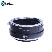 Fikaz For EOS-Nikon Z Lens Mount Adapter Ring for Canon EOS EF EFS EF-S to Nikon Z6 Z7 Camera