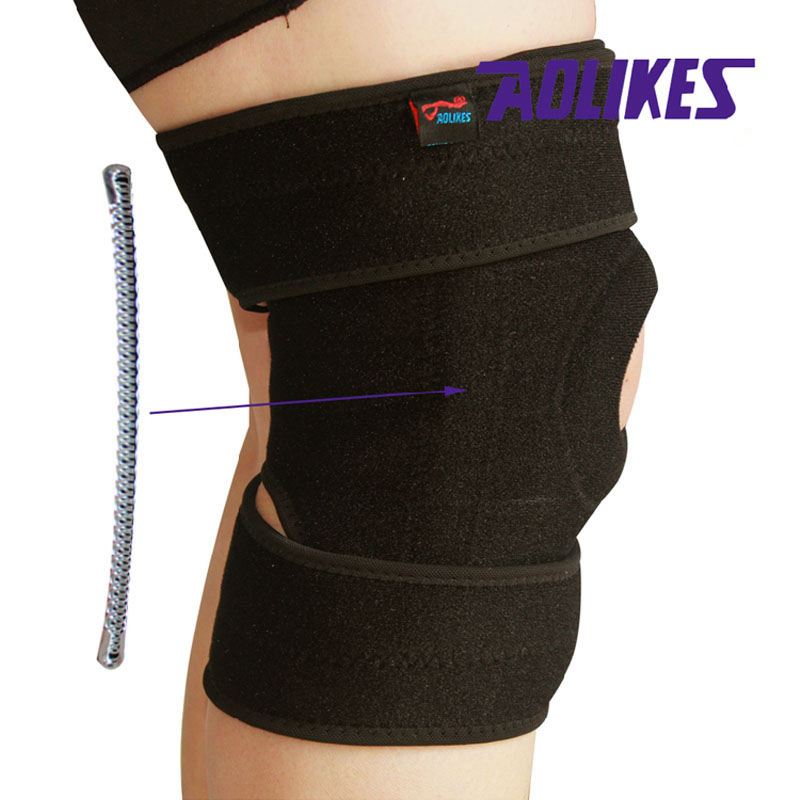 Aolikes 1pcs Gym Knee Pads Meniscus Protetor Joelho Support Brace Damping Kneepad Rodilleras Tutore Ginocchio Pens, Pencils & Writing Supplies Office & School Supplies