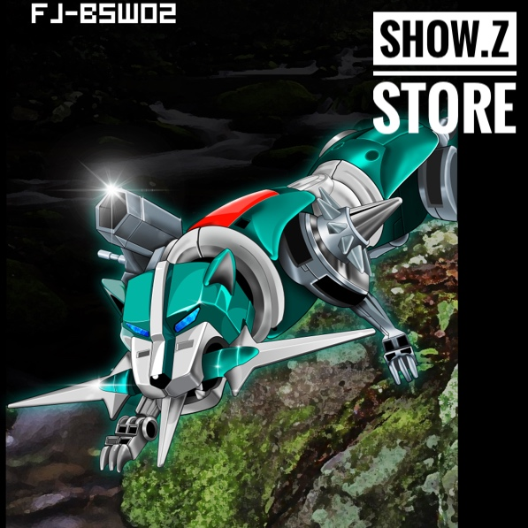 [Show.Z Store] Fantasy Jewel FJ-BSW02 Green lion Voltron Defender of the Universe Action Figure image