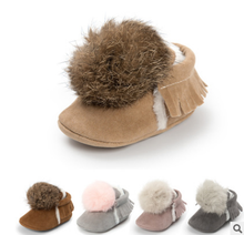 Hot sale! winter baby Shoes warm plush baby girl boy booties First Walkers baby moccasins infantil toddler shoes 0~18month.CX98C стоимость