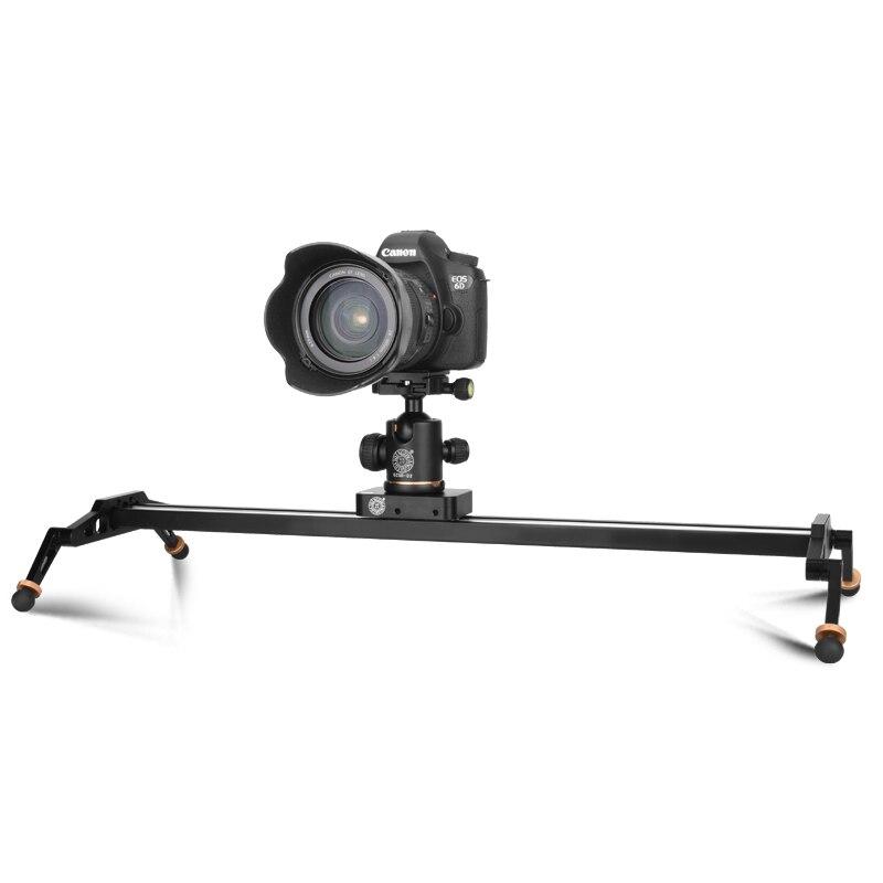 Stabilisateur de rail de voie portable 60 cm auto retour automatique intemporalité dolly vidéo caméra de prise de vue diapositives photographiques
