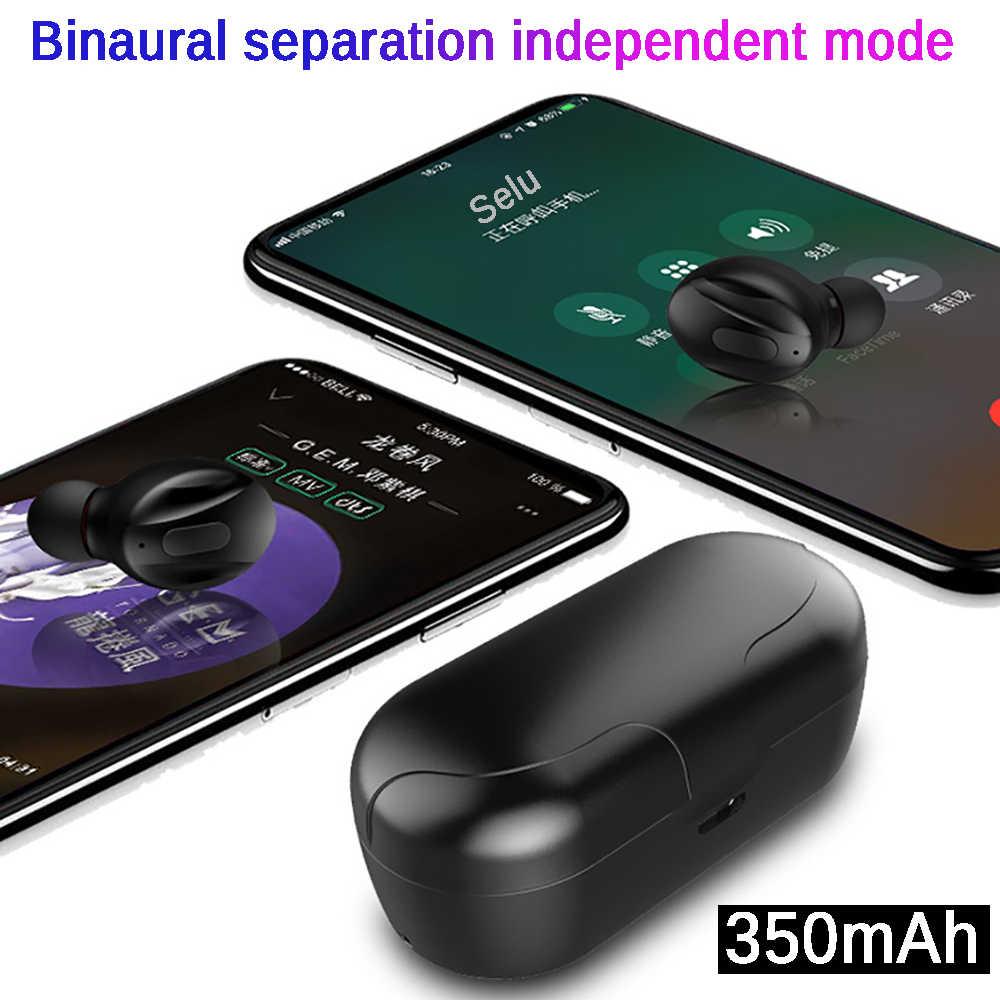 XG14 Tws Bluetooth 5.0 Auricolare Senza Fili di Alimentazione in Ear Mini Auricolari Hifi 5D Stereo Sport Auricolare IP5 Impermeabile Headset Headfree