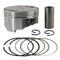 Motorcycle Engine Parts STD Cylinder Bore Size 73mm Pistons & Rings Kit For Suzuki DR250 DR 250 1990-1995 Piston Ring