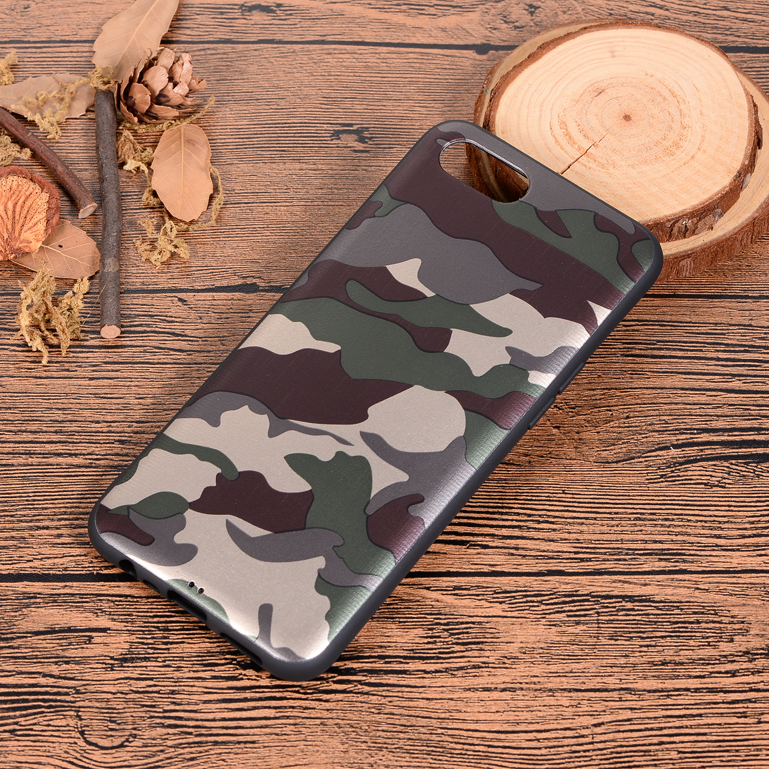 Camouflage Pattern Phone Case For Oppo Realme C2 Coque Green Soft TPU Silicone Back Cover For Oppo Realme C2 Army Camo Etui Bag