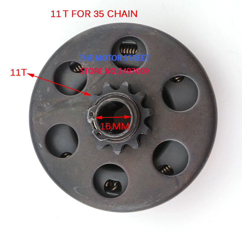 free shipping 5 8 16mm Centrifugal Clutch 11 Teeth 35 Chain For 152 Petrol Engine go