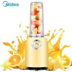 Midea Multifunctional Fully Automatic Mini Portable Juicer Fruit Vegetable Juicer Grinder Mini Juice Blender Lemon Yellow