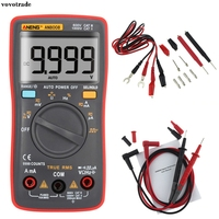 AN8008 True RMS Digital Multimeter 9999 Counts Square Wave Voltage Ammeter True RMS 550V Protection In