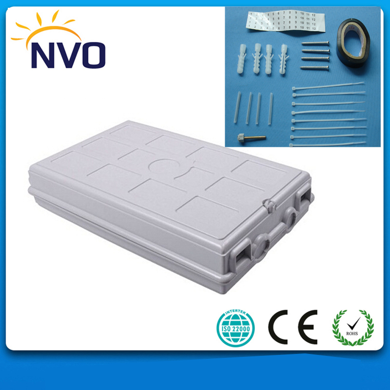 24Cores FTTH Fiber Optic  Plastic Box Fiber Optic Termination Distribution Box24Cores FTTH Fiber Optic  Plastic Box Fiber Optic Termination Distribution Box