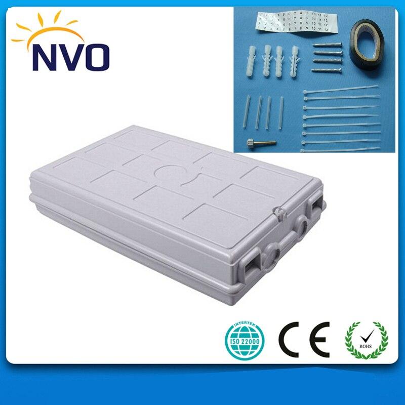 Boîte de Distribution de terminaison optique de Fiber de boîte en plastique optique de Fiber de 24 noyaux FTTH