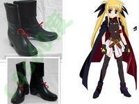 Magical Girl Lyrical Nanoha Halloween Cosplay Boots Shoes S008