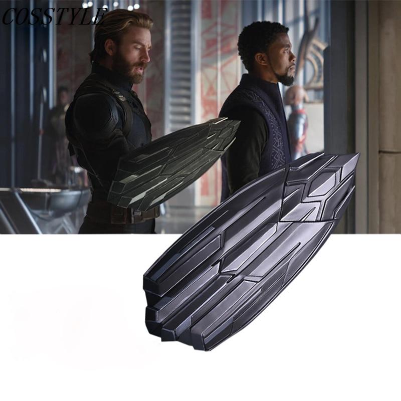 Movie Avengers Infinity War Cosplay Captain America 1:1 Shield Replica Superhero Cosplay Steve Rogers Weapons Halloween Props