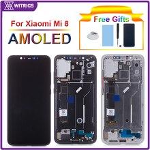 Voor Xiao Mi Mi 8 Lcd Touch Screen Digitizer Voor Xiao Mi Mi 8 Lcd Montage Voor Xiao Mi mi 8 Display Mi 8 Screen Vervanging