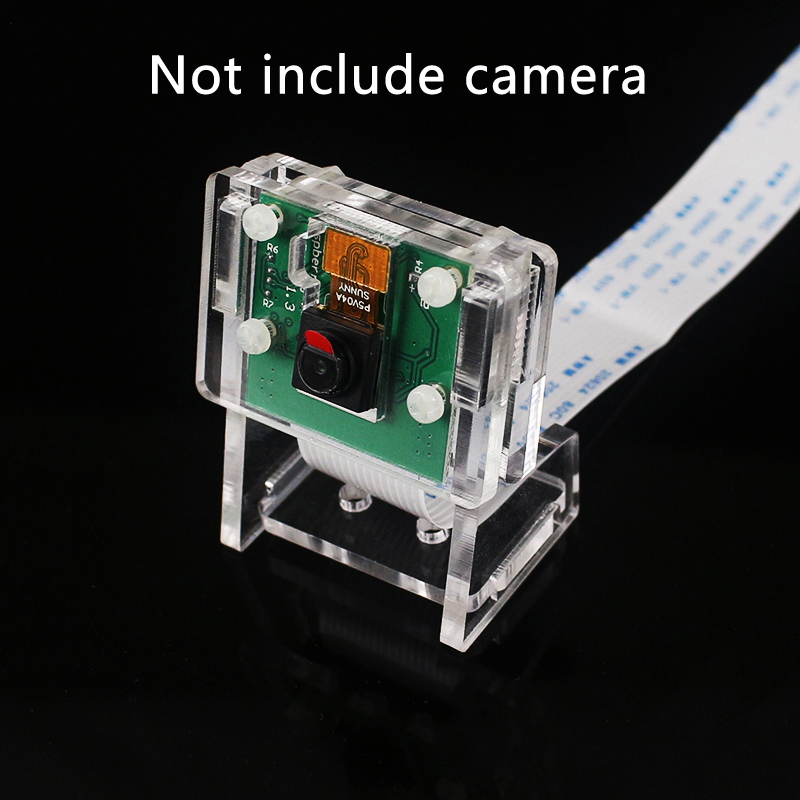 For Raspberry Pi 3 Mini Camera Holder Transparent Webcam Acrylic Bracket For Raspberry Pi Official Camera