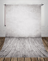 Grey Vintage Wall Printed Newborn Cute Photo Backdrops Thin Vinyl Backdrop For Studio Children Photography Backgrounds