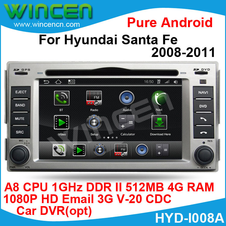 2008 Mazda A8 For Sale In Miami Fl: Aliexpress.com : Buy 1080p HD Pure Android Car DVD Player For Hyundai Santa Fe 2008 2011 A8 Chip