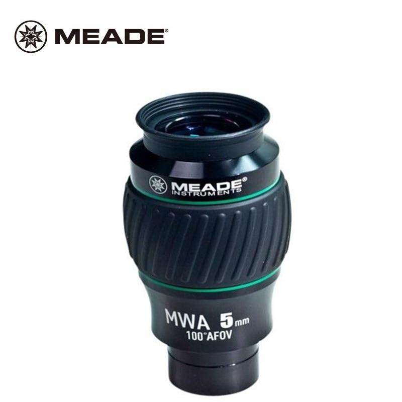 Meade High end экстремальные широкоугольные инструменты Монокуляр астрономический телескоп окуляр 100 градусов MWA 5 ММ 1,25 с многослойным покрытие