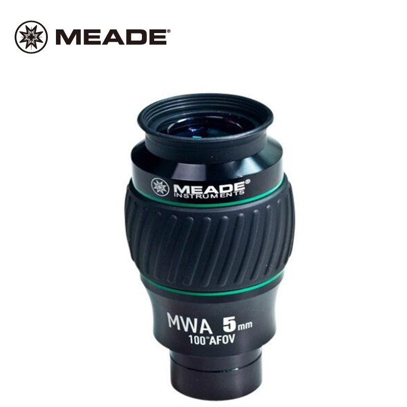 Meade High-end Extreme Wide Angle Instruments Monocular Astronomical Telescope Eyepiece 100 Degree MWA 5MM 2 Full Multi-coated swa 1 25inch 15mm super wide angle 70 degree eyepieces for astronomical telescope five elements fully coated high index glass