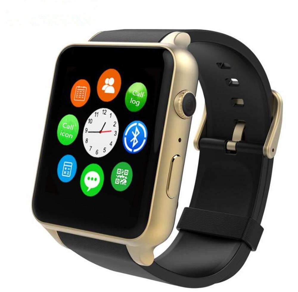Prix pour Nouveau GT88 GSM Carte SIM Bluetooth Sport Smart Watch avec Caméra Moniteur de Fréquence Cardiaque NFC Smartwatch pour Android et IOS