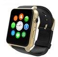 Nueva GT88 Tarjeta SIM GSM Bluetooth NFC Deportes Reloj Inteligente con Cámara Monitor de Ritmo Cardíaco Smartwatch para Android y IOS