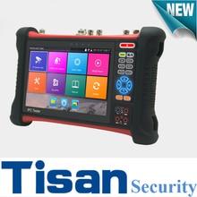 H.265 4K testing analog AHD CVI TVI IP 5 in 1 test monitor cctv tester with Video level meter,Cable tracer, Digital Multimeter