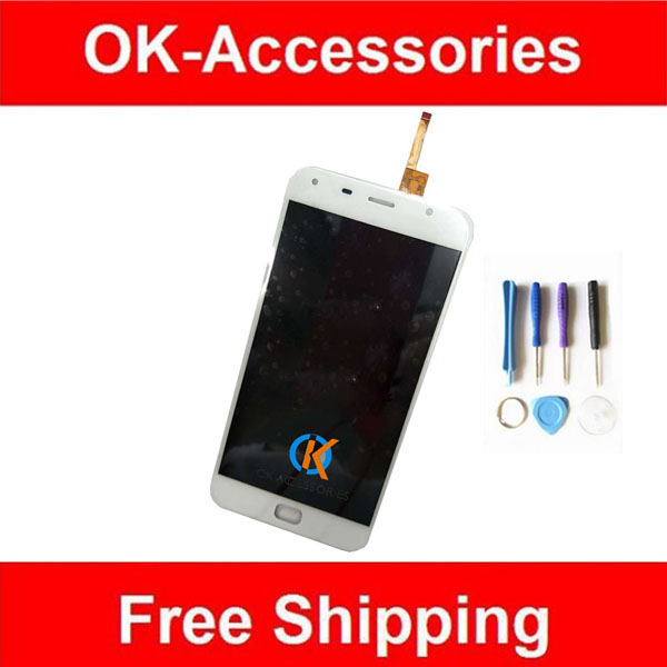 1PC/Lot For  UMI Touch LCD Display+Touch Screen Digitizer Assembly With Tools Black White Color 5.5Inch  high quality 1pc lot lcd display touch screen assembly digitizer for htc 10 evo white black color with tools