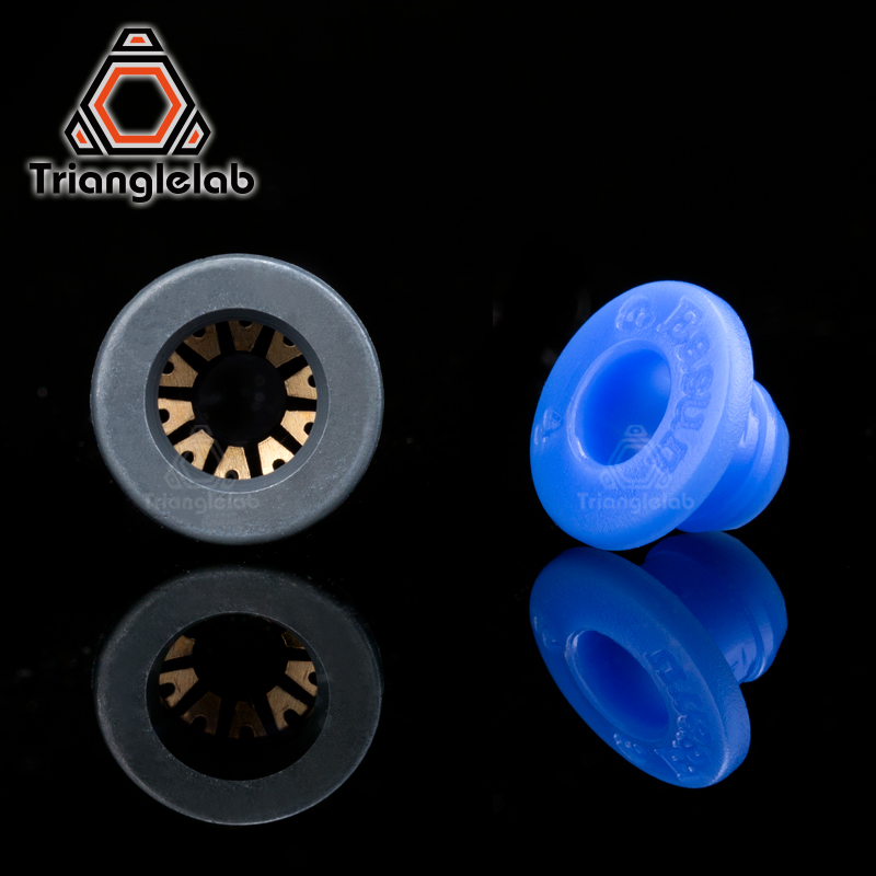 Wholesale BMG EXTRUDER  Embedded Collet Clips  For Extruder  And Other Embeddable Tube Ptfe Tube Blue Collet Clips Free Shipping
