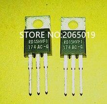 2 5 10PCS nowy RD15HVF1 RD15HVFI RD15HVF TO 220 MOSFET tranzystor mocy