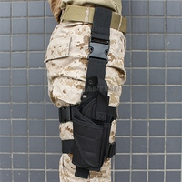 Many Color Adjustable Tactical Leg Pistol Holster Pouch Gun Holster Airsoft Outdoor Hunting Gun Holster Fits