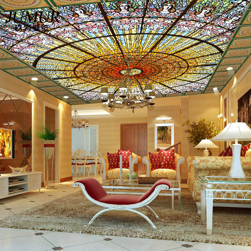 3d Stereoscopic Mural Wallpaper Mural Fashion Seamless Mural 3d Wallpaper 3d Ceiling
