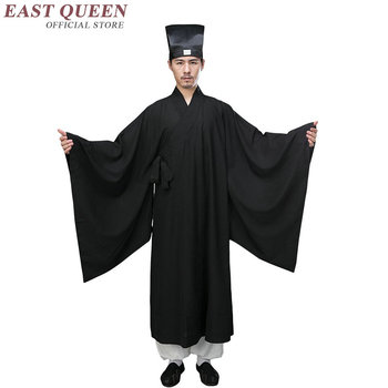 Traditional chinese clothing for men male overcoat outerwear oriental winter trench coat men trenchcoat clothes 2018 KK2385