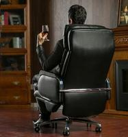 Household Leather Boss Office Chair Can Lie Massage Of Large Exerted