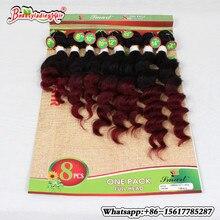 Natural Human Afro Kinky Curly hair 8 Pcs/lot Brazilian Kinky Curly hair Brazillian Human curly Weave Bundles for women