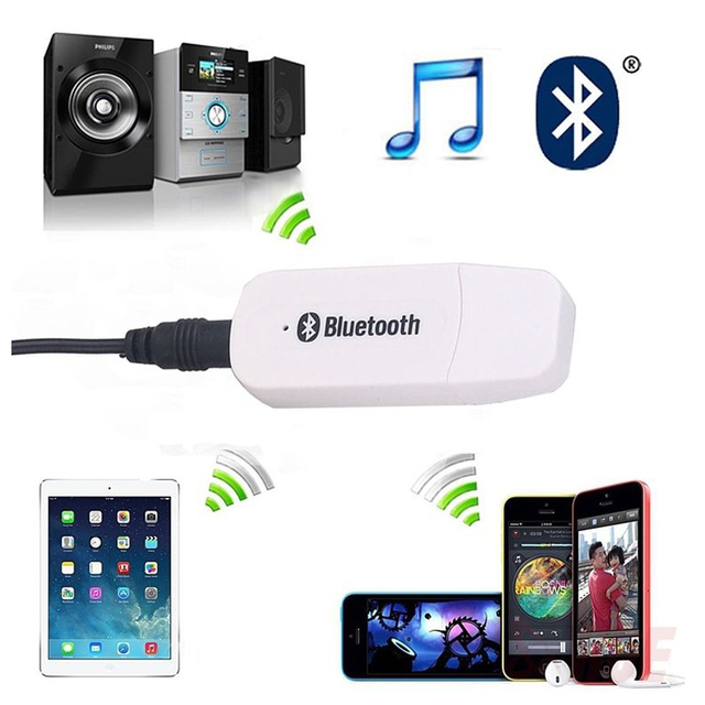 Mini USB 3.5mm Bluetooth Empfänger Adapter kabel konverter Einfach ...