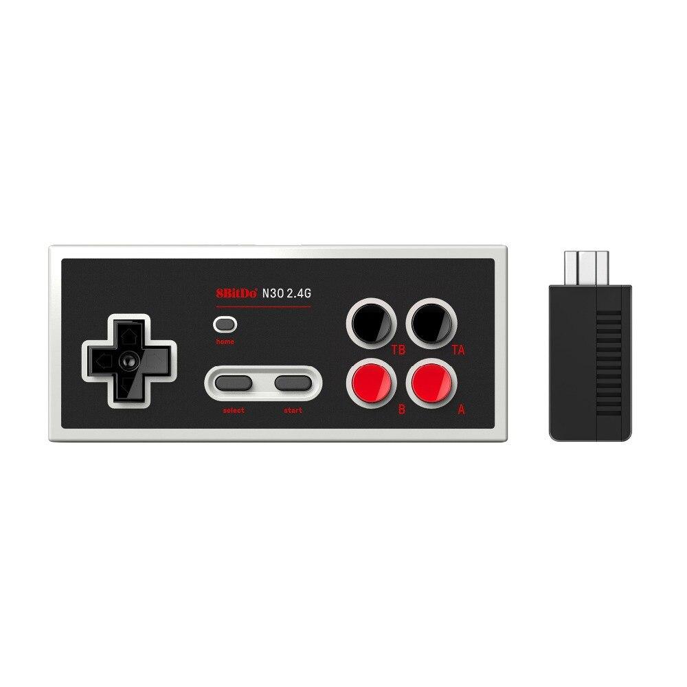 8 Bitdo N30 2,4g Retro Wireless Controller Gamepad Mit Bluetooth Empfänger Mini Unterstützung Schalter Joystick Wireless Game Controller